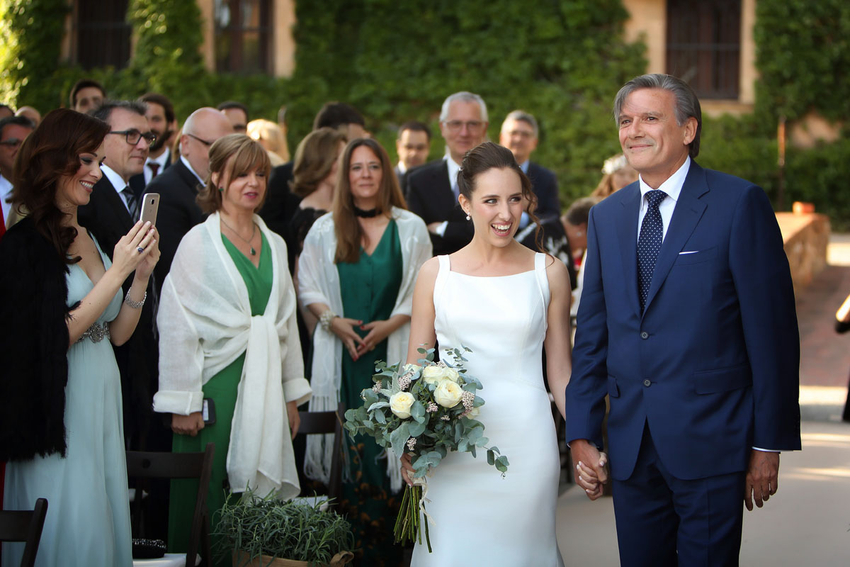 Civil ceremony in the castle sant marcal 19