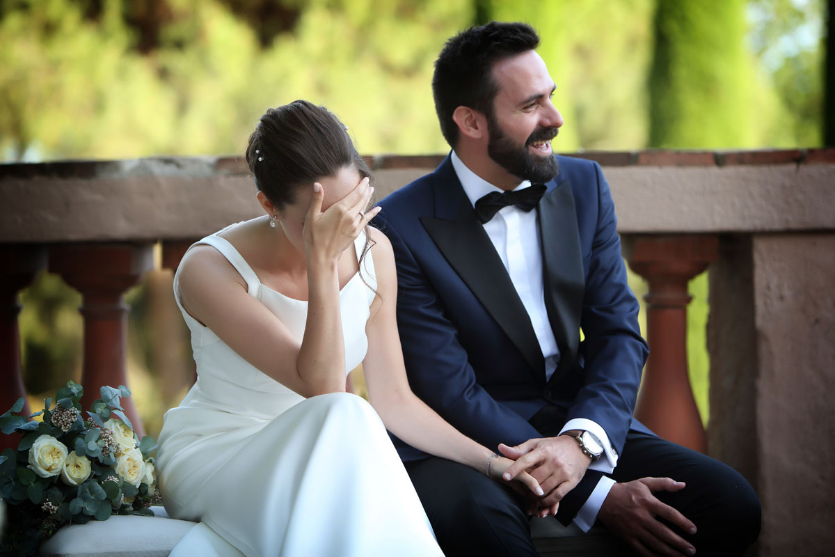 Civil ceremony in the castle sant marcal 22