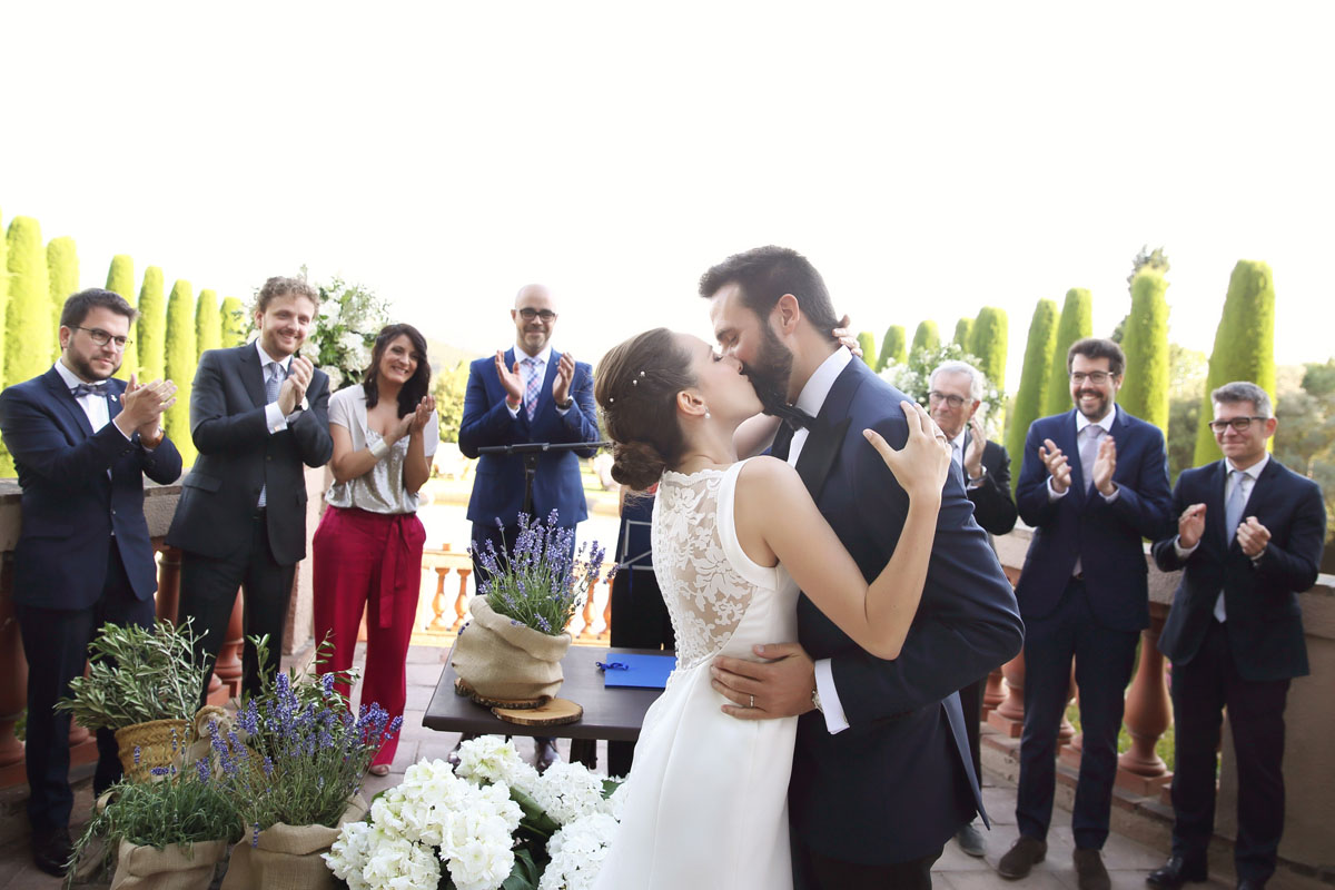 Civil ceremony in the castle sant marcal 24