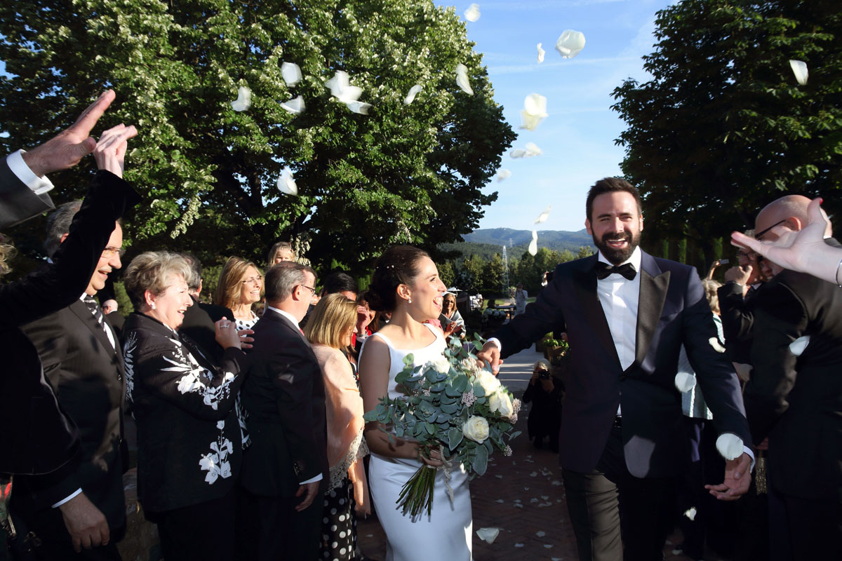 Civil ceremony in the castle sant marcal 25