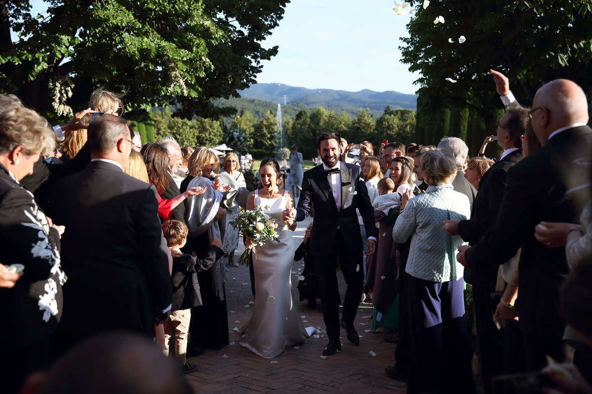 Civil ceremony in the castle sant marcal 27