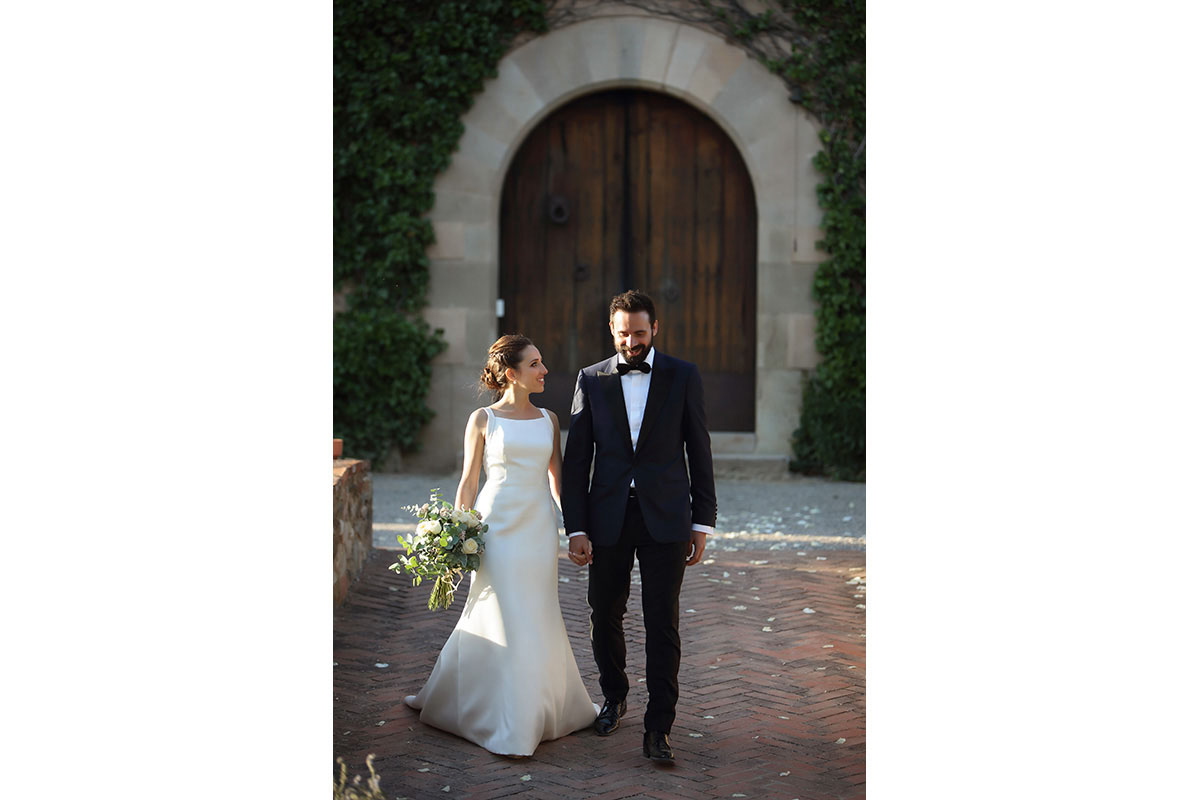 Civil ceremony in the castle sant marcal 29