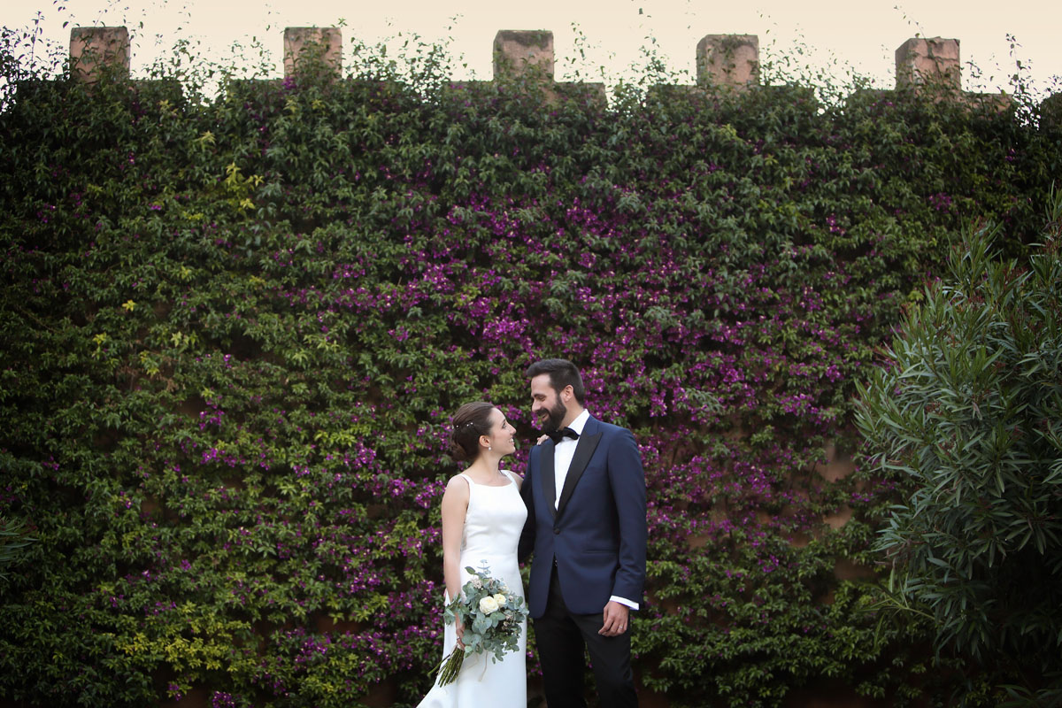 Civil ceremony in the castle sant marcal 30