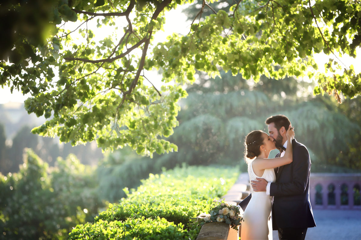 Civil ceremony in the castle sant marcal 33