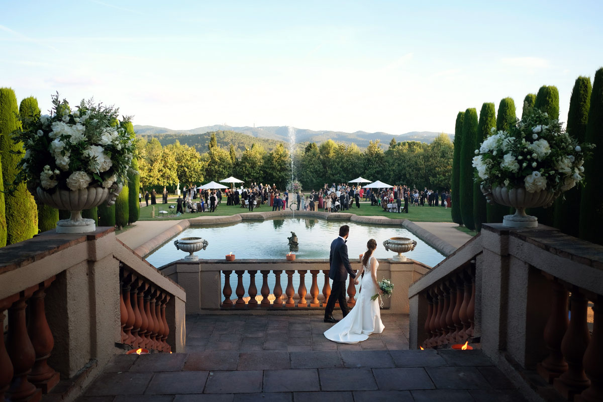 Civil ceremony in the castle sant marcal 34