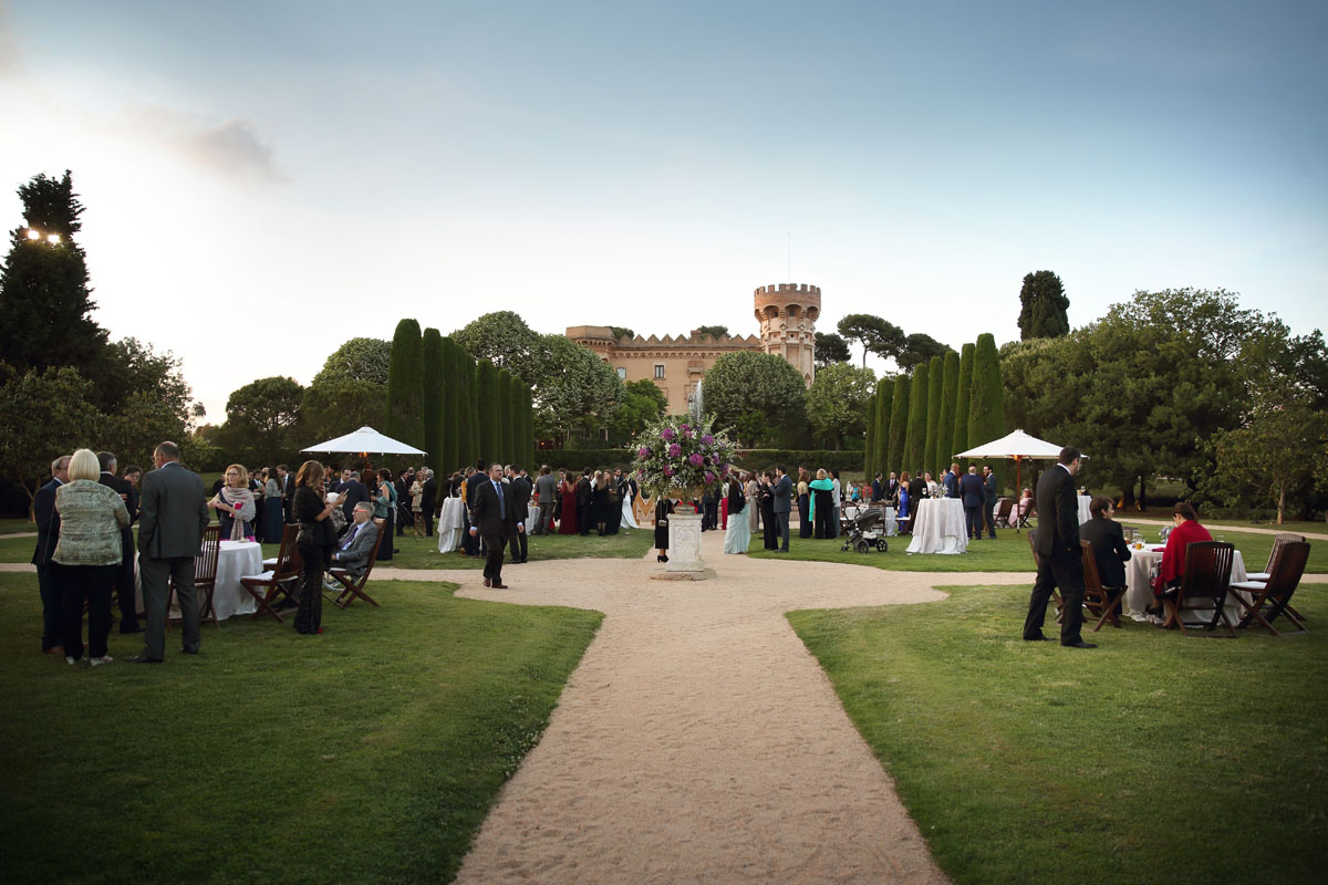Civil ceremony in the castle sant marcal 41