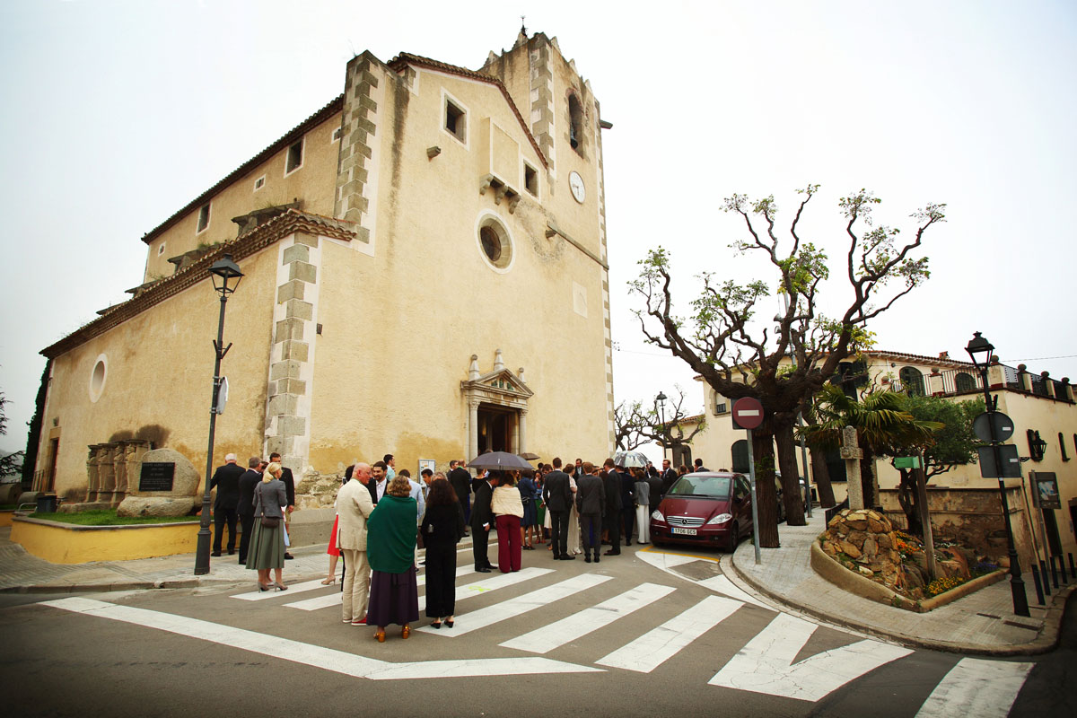Wedding church sant vicenç de montalt 025